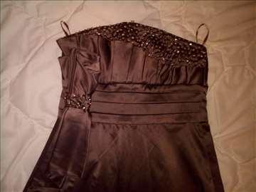 Elegantna satenska haljina