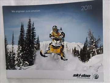Katalog Ski Doo BPR 2011.god.,35 str.,eng.