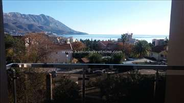 Dvosoban stan sa dvije terase,pogled na more Bečić