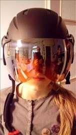 HIT - Ski kaciga sa vizirom - NOVO
