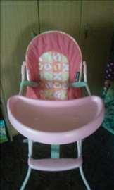 Stolica za hranjenje dece