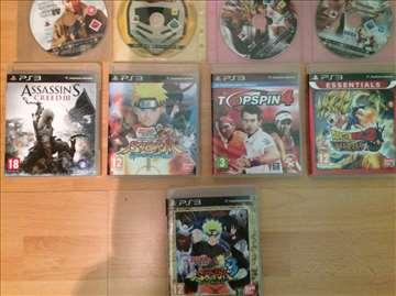 Prodajem igrice za Sony Playstation 3