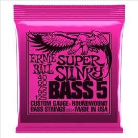 Ernie Ball Super Slinky 5-ožičani set za bas gitar