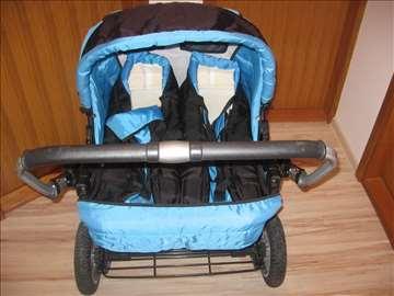 Kolica, nosiljke i sedište za kola za blizance