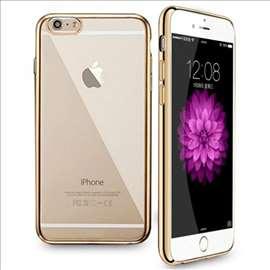 Luksuzna iPhone 6/6S providna maska sa zlatnim okv