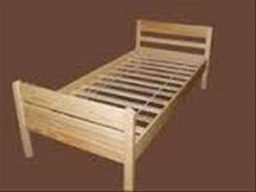 Na prodaju nov krevet i dušek nov, za jednu osobu