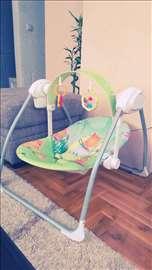 Ljuljaška za bebe, na struju ili baterije