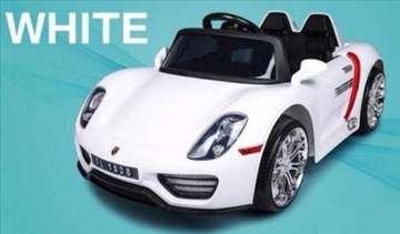Auto na akumulator za decu - Porsche - BELI