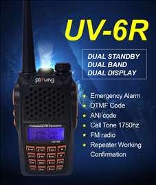 Baofeng UV-6R Dual-Band radio stanica