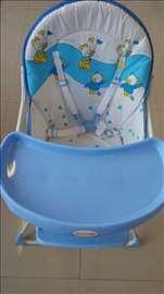 Hranilica za bebe plava