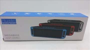 MegaBass BlueTooth zvučnik FM/MP3 plejer akcija