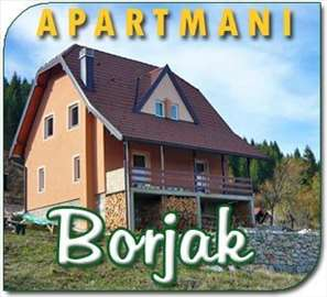 Planina Tara- apartmani Borjak