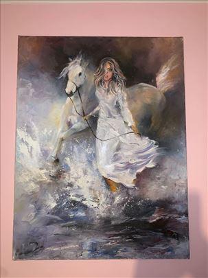 Zena sa konjem